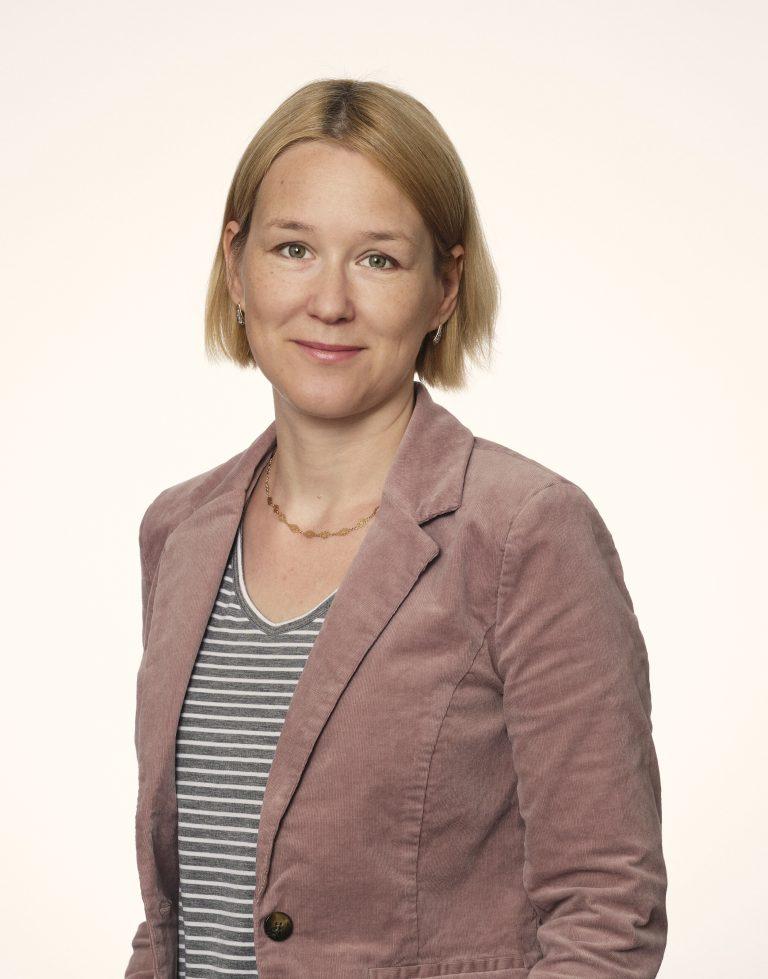 Porträtt av Katrine Lidström