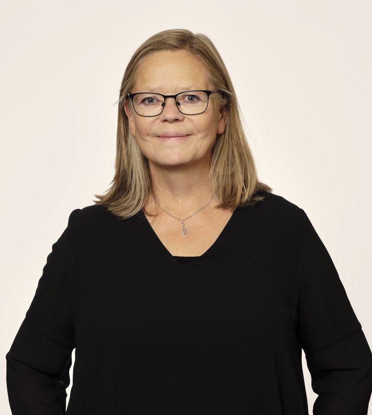 Porträtt av Gunilla Hägglöf