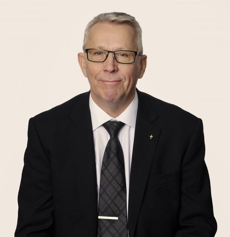 Porträtt av Åke Gårdman